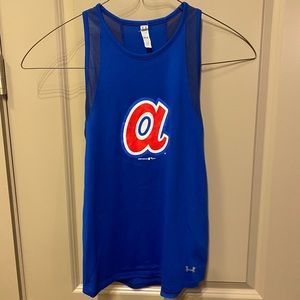 Under Armour Tops - UNDER ARMOR Braves workout dri-fit tank